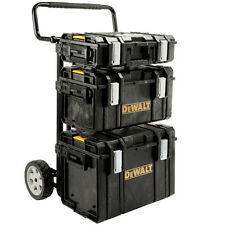 DeWalt Tough Case Tool Box Storage System Trolley set DeWalt Tough Syst