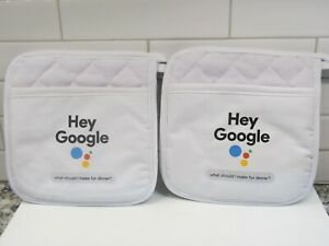 Hey Google, What should I make for dinner? Pot Holders, NEW!