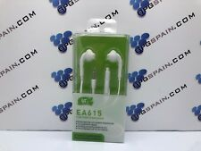 AURICULARES EA614 WHITE compatible para HUAWEI, LG ANDROID SAMSUNG XIAOMI