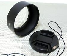 49 mm Metal Lens Hood + 58mm Cap for Standard Camera Lens 49SC58