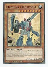 Machina Megaform NECH-ENS06 Super Rare Yu-Gi-Oh Card Limited Edition New