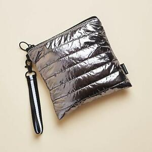Sephora Silver Puffer Cosmetic Bag, Luxe Vol.2, Limited Edition