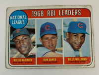 1969 Topps Baseball Card