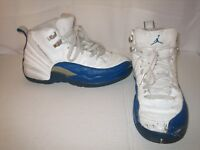 NIKE AIR JORDAN RETRO 12 XII SHOES SIZE 5.5 US FRENCH BLUE 153265-141 VINTAGE 03