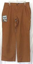 Dickies Womens 14 Carpenter Work Utility jeans/PantsCasual Fit Copper Brown NWT