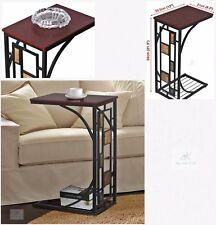 Small Side Table Living Room Metal Unit End Coffee Modern Bookcase Storage Stand