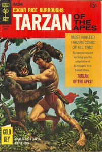 TARZAN OF THE APES #178  1968 - GOLD KEY - ORIGIN ISSUE - RUSS MANNING INTERIORS