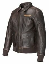 Triumph Motorcycles Mcqueen US47 Bomber Leather Jacket Brown MLHS16509 XXL BNWT