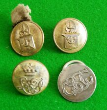 4 Nice Livery / Armorial Buttons