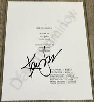 KEVIN JAMES SIGNED AUTOGRAPH 112 PAGE PAUL BLART MALL COP 2 SCRIPT w/EXACT PROOF