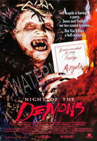 Night of Demons Horror Movie Poster High Quality Metal Fridge Magnet 3x4 8935