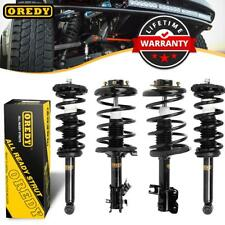 Set of (4) Front and Rear Complete Shock Strut Assemblies For Infiniti I35 00-01