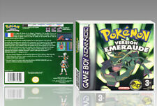 "BOITIER DU JEU ""POKEMON VERSION EMERAUDE"", GAME BOY ADVANCE, FR. SANS LE JEU."
