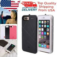 New ListingUSA For iPhone 7plus LED BackLight Power Bank Mobile Phone Protecting Case Cover