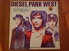 """DIESEL PARK WEST 1992 Vinyl 45rpm 12"""" Single GOD ONLY KNOWS"""