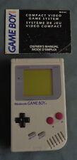 NINTENDO GAMEBOY GAME BOY CLASSIC DMG-01 spelcomputer console grey gray WORKS OK