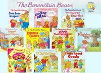 Berenstain Bears Living Lights Forgiving Tree,Kindness,Respect+ 10 Paperback Set