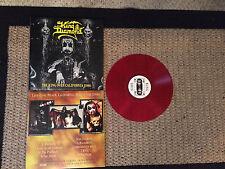 KING DIAMOND Over California 1986 RED LP mercyful fate metallica brats bathory