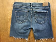 ABERCROMBIE *CUT-OFF DENIM JEAN SHORTS* Youth GIRLS Sz 16