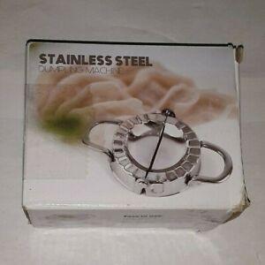 STIANLESS STEEL DUMPLING MACHINE RAVIOLI PASTA PRESSING MOULD SHAPER uns nib