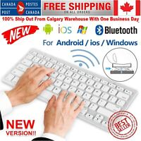Wireless Mini Bluetooth Keyboard Touchpad For Laptop Tablet Mac Iphone Android