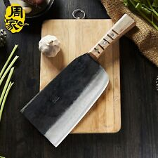 Carbon Steel Handmade Knives Cutting Big Bone Strong Chef Chopper Kitchen
