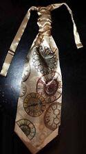 L@K! Custom Steampunk Clocks Ascot Cravat - New Design