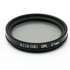 37mm Circular Polarizing C-PL CPL PL-CIR Filter 37 mm fr Canon Nikon Camera Lens
