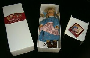 "vtg 1991 KIRSTEN 6"" American Girl DOLL Pleasant Company box seal missing book NR"
