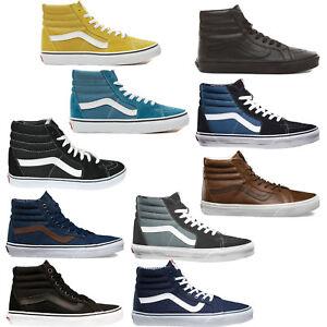 Vans SK8 Hi Sneaker da Uomo Scarpe Skate Casual Caviglia Alta Scarpe-Skate