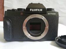 Fuji Fujifilm X-T100 24.2MP Mirrorless Digital Camera Body - Black