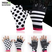 Summer Cycling Gloves MTB Bike Bicycle Half Finger Gloves Short Finger Gloves