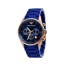 Emporio Armani Ar 5806/5808 Blue Sportivo Chronograph Wrist Watch for Men