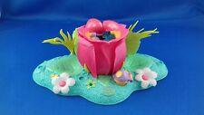 Boite coffret vintage polly pocket hideaway rose bluebird 1997