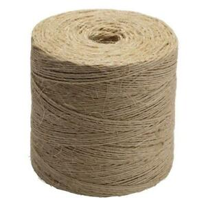 Everbilt #42 x 2250 ft. Twisted Sisal Rope Twine, Natural