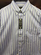 Jos A Bank traveler collection shirt for men size large, Brand New