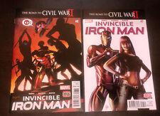 INVINCIBLE IRON MAN (2015) -- #7 8 9 10 -- 1st Appearance RIRI -- 1st Prints