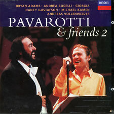 Pavarotti & Friends 2; Live from Modena 1994; Bocelli, Bryan Adams, etc; Decca