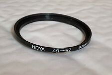 Hoya 49mm To 52mm Step up Ring