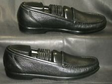 SAS Tripad Comfort Simplify women's black leather moc toe loafer shoes sz 9 1/2S