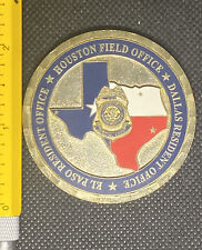 Diplomatic Security Service Houston Field Office Dallas RO Challenge Coin