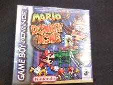 Mario VS Donkey Kong nuevo y precintado gameboy advance