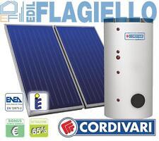 PANNELLO SOLARE CORDIVARI B2 300L 2x2,5mq ACQUA CALDA TERMICO no panarea
