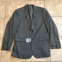 Jos A Bank Mens Grey Crossover Collection Blazer Jacket Size 43 Long Slim Fit