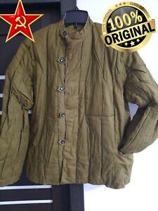Telogreika Original Soviet Army Quilted Jacket Fufaika Vatnik USSR Uniform New