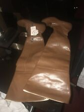 Brand new over the knee boots very beautiful in brown colour ,uk 44