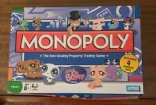 Parker Brothers Monopoly The Littlest Petshop Edition CIB Complete in Box 4 Pets