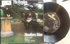 """BEATLES Nowhere Man SUPERB NM UK 7"""" EP VERY RARE NO POLO RING EARLY 70's"""