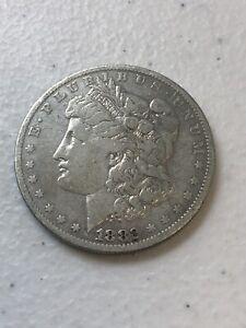1882 - O Morgan Silver Dollar $1 90% Silver US Coin  S049