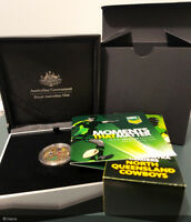 SCARCE 2015 NRL Premiers, Moments that matter Cowboys $1 Proof # 353/500 (#3/3)